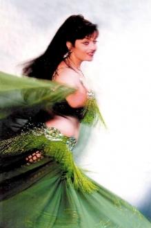 Chryssanthi Sahar dancing